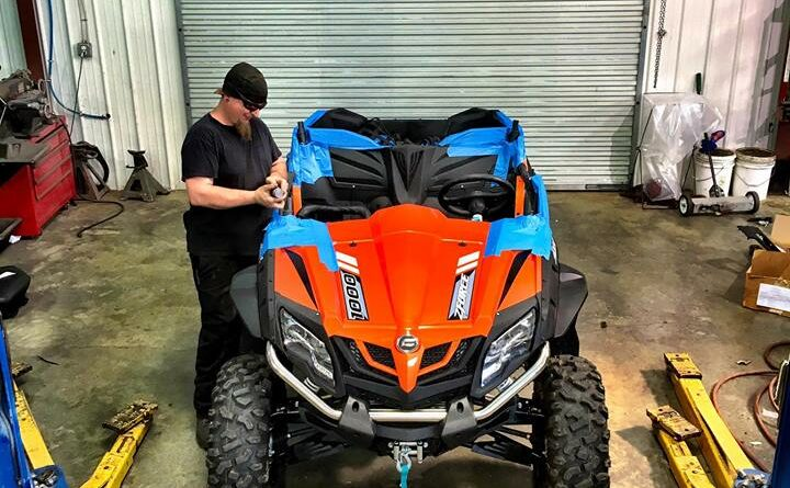 CFMoto Custom Roll Cage, etc  - Southern Off Road Powersports